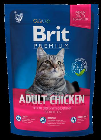 Brit premium cat adult chicken 1.5 kg