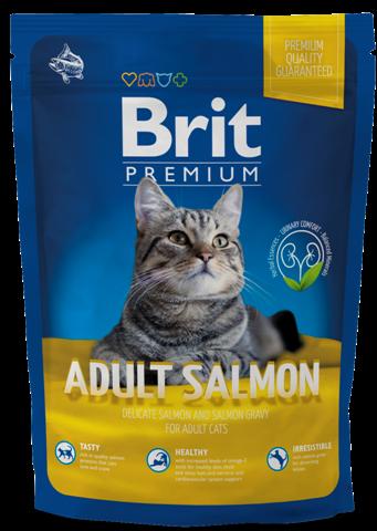 Brit premium cat adult salmon 1.5 kg