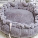Bohemia donut grijs diameter 80cm