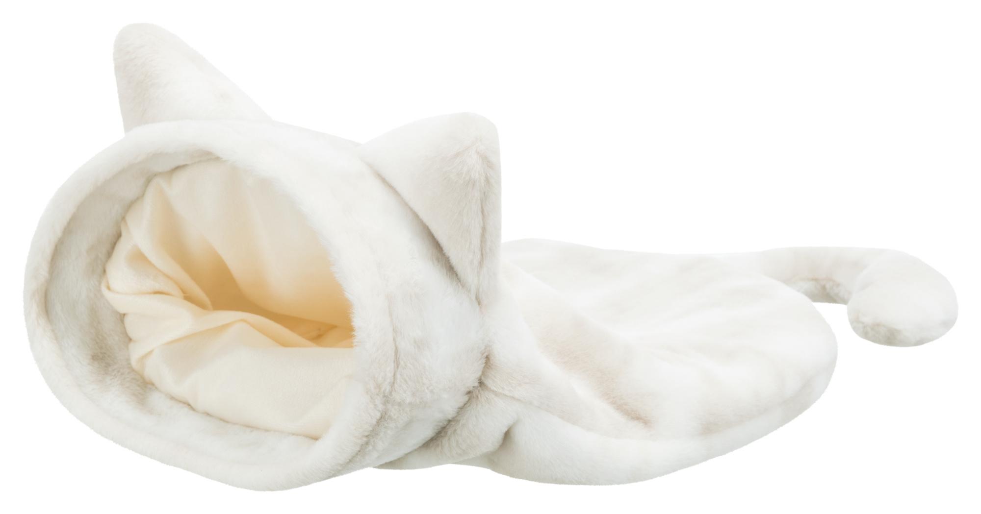 slaapzak nelli 54 × 23 × 65 cm, wit-taupe