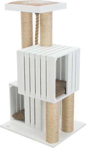 BE NORDIC krabpaal Skadi, 114 cm, wit