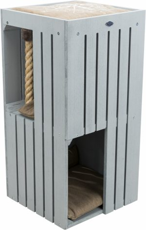 BE NORDIC Cat Tower Juna, 77 cm, grijs