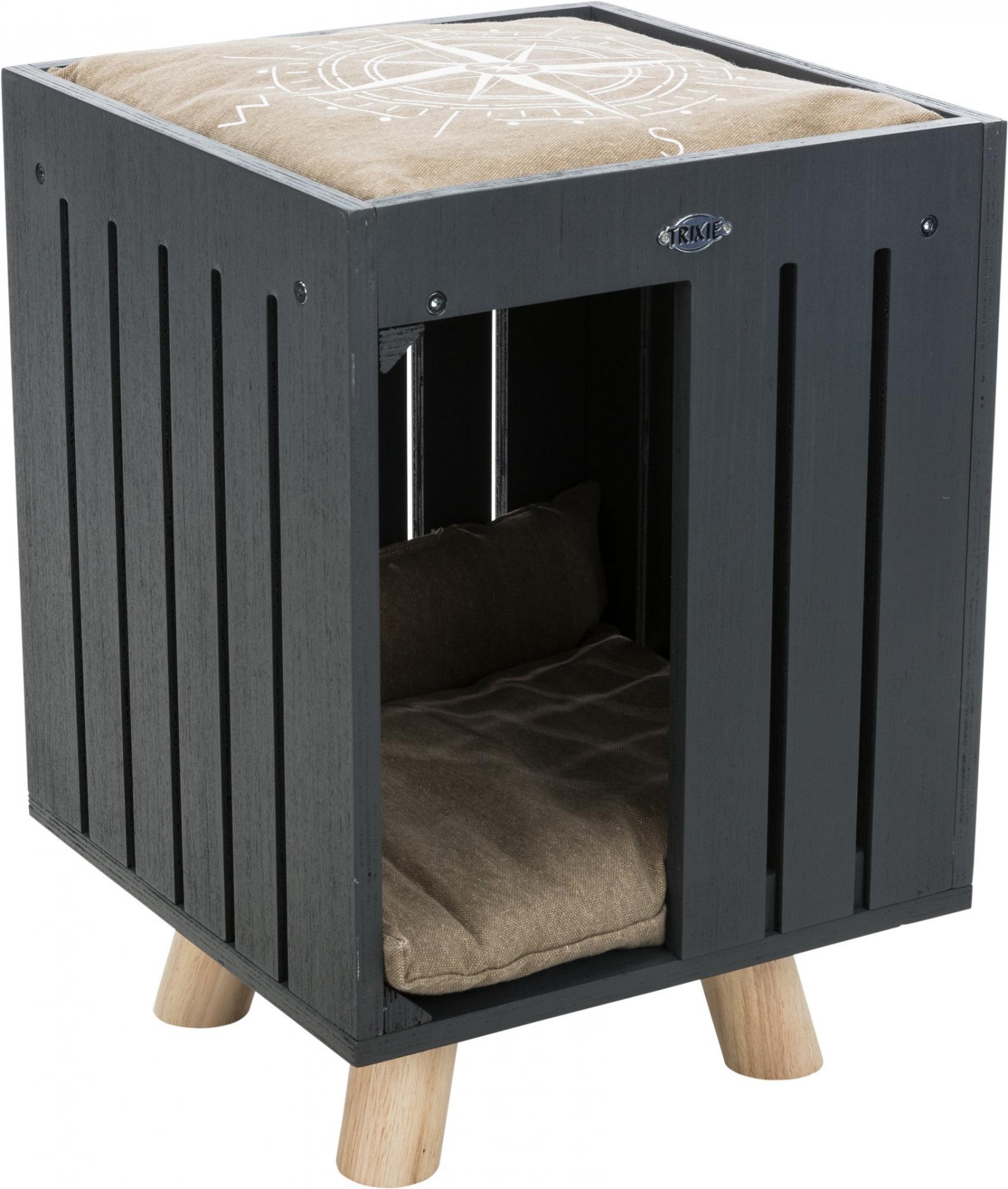 BE NORDIC relax-iglo Alva, 36 × 51 × 36 cm, antraciet/zand