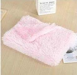 pluche matje zacht roze medium