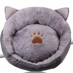 bohemia cat shaped paw bed 40x40