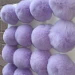 bohemia balletje met lus paars