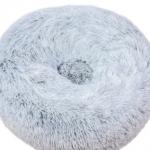pluche donut blue frost 100 cm