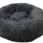 pluche donut dark grey 100 cm
