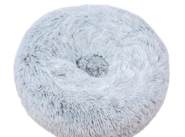 pluche donut blue frost 60cm