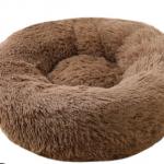 pluche donut mokka 100 cm