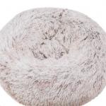 pluche donut brown frost 60cm
