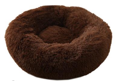 pluche donut dark brown 60cm