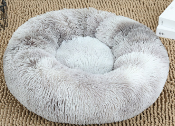 pluche donut grey frost 60cm