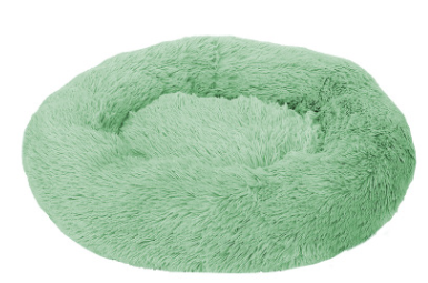 pluche donut soft green 60cm