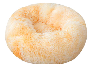 pluche donut orange 60cm
