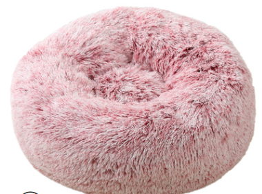 pluche donut pink frost 60cm