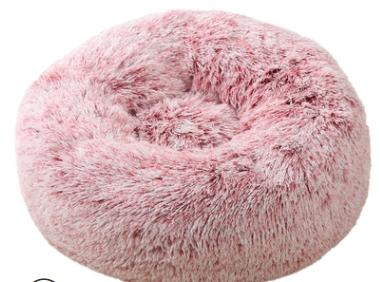 pluche donut pink frost 60cm
