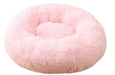 pluche donut babypink 60cm