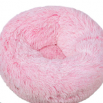 pluche donut bright pink frost 60cm
