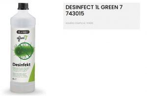 green 7 desinfect anit schimmel en bacteriën