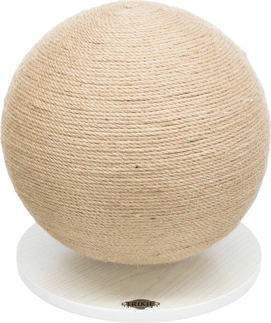 krabbal op plaat jute/hout doorsnede 29*31 cm
