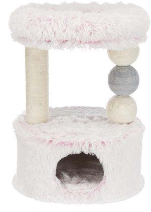 Krabpaal Harvey 73 cm roze-wit