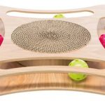 Krabkarton met speelgoed , hout 35*4*35 cm