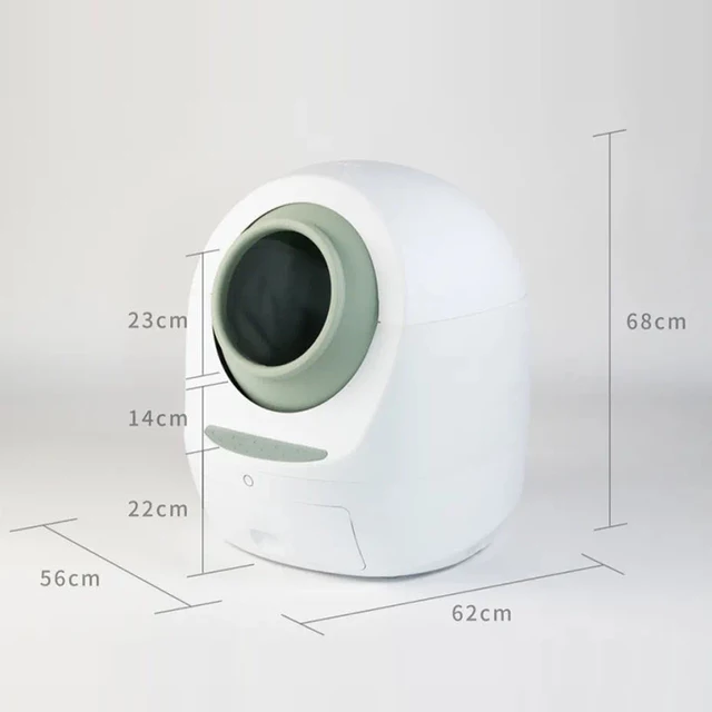 catmeet fully automatic WIFI toilet blue
