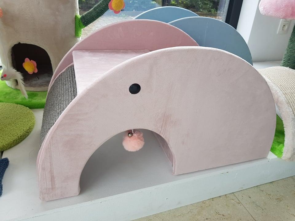 kittenpaal elephant slide roze