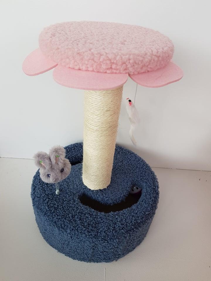 kittenpaal pink flower fun