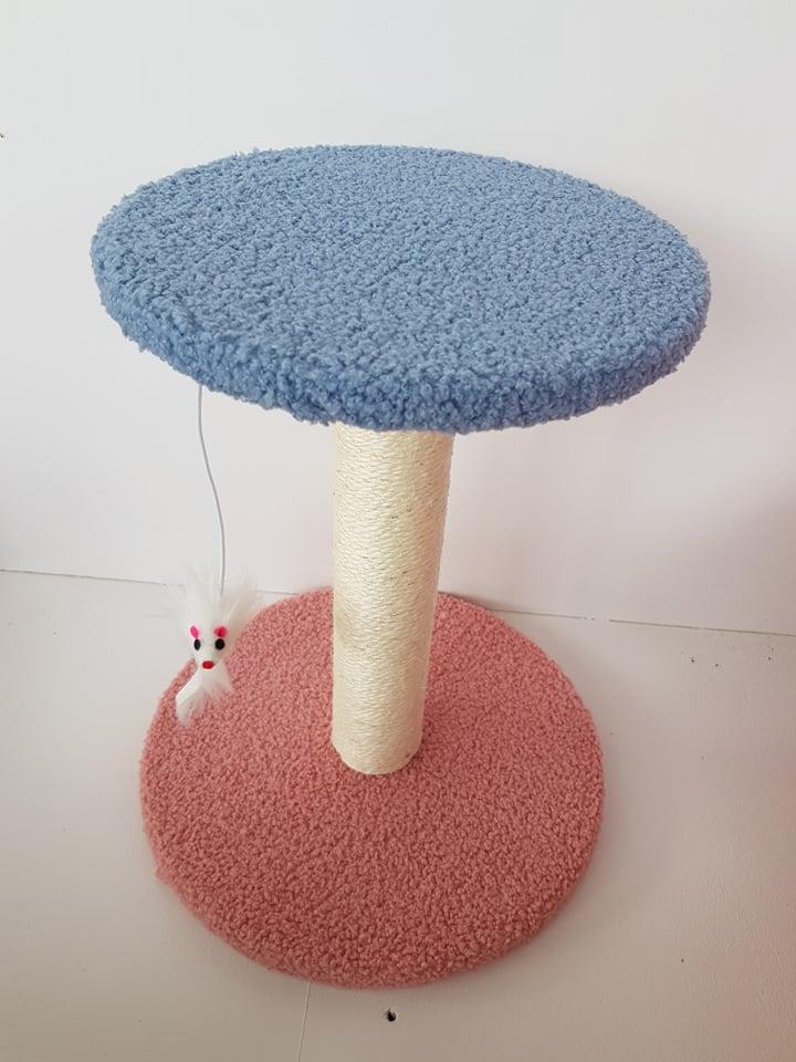 kittenpaal simple fun blauw roze