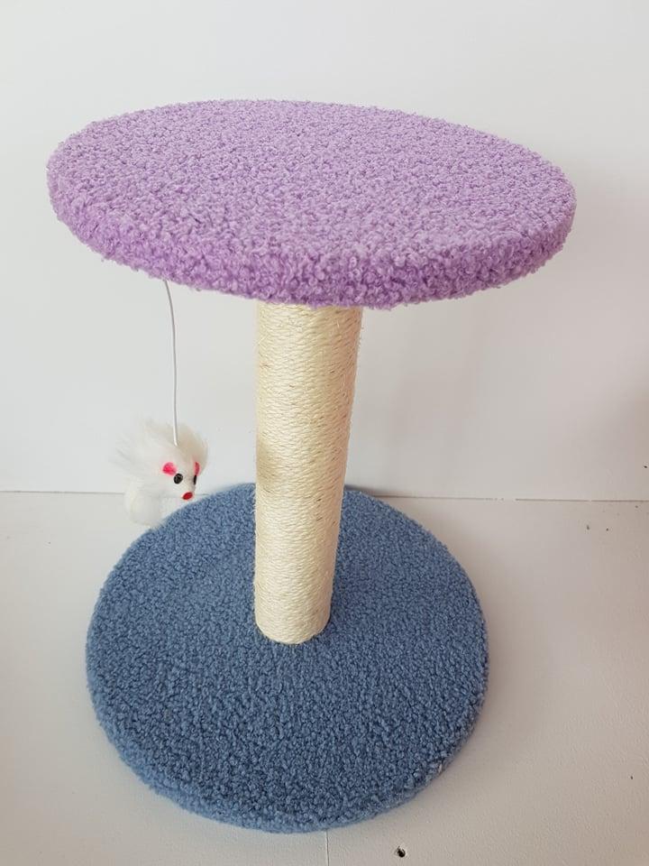 kittenpaal simple fun blauw paars