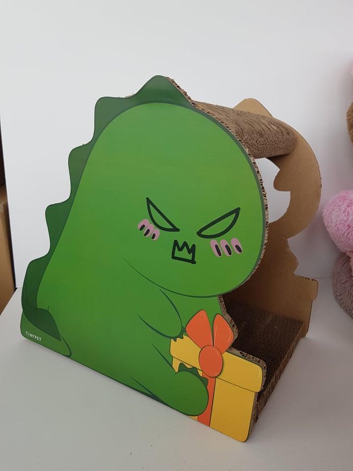 bohemia green dino krabkarton speeltje