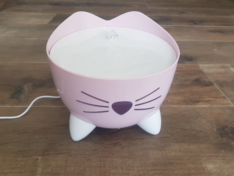 drinkfontein catit pixie roze 2.5l