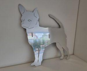 large spiegel (naam)gravure alle diersoorten rassen vormen